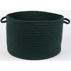 "WearEver Spruce Green Poly 18"" x 12"" Basket"