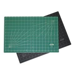 "ADIR Adir Self Healing Cutting Mat Reversible Green/Black 12""x18"""