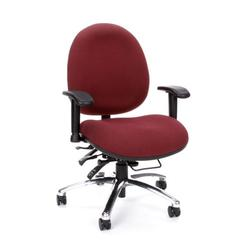 OFM 24-Hour Big & Tall Chair, Burgundy