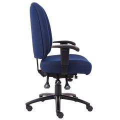 Aaria Collection Dido Multi-Function 3 Paddle Task Chair / Blue