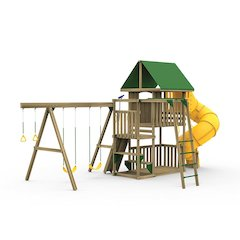 Great Escape Factory Built Silver Play Set
