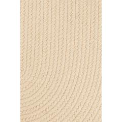 "Rhody Rug WearEver Cream Poly 18"" x 36"" Slice"