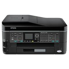 Epson WorkForce 645 Wireless All-in-One Inkjet Printer, Copy/Fax/Print/Scan