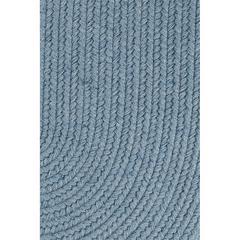 """Solid Blue Bonnet Wool 18"""" x 36"""" Slice"""