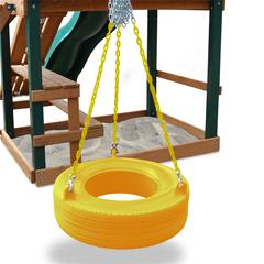 360° Turbo Tire Swing - Yellow