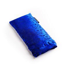 Hugger Mugger Silk Eyebag - Beads - Colbalt