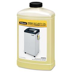 Fellowes Shredder Oil, 32 oz. Bottle, For High Security Shredders