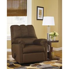 Signature Design by Ashley Darcy Rocker Recliner in Cafe Microfiber