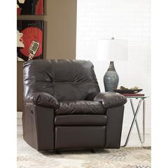Flash Furniture Signature Design by Ashley Jordon Rocker Recliner in Java DuraBlend