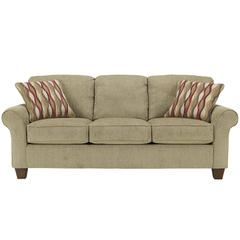 Flash Furniture Signature Design by Ashley Newton Sofa in Pebble Fabric