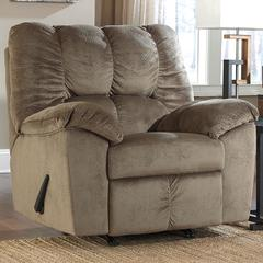 Flash Furniture Signature Design by Ashley Julson Rocker Recliner in Dune Fabric