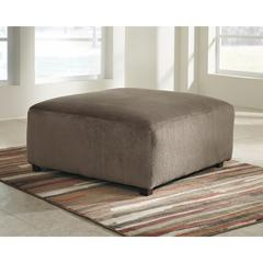 Flash Furniture Signature Design by Ashley Jessa Place Oversized Ottoman in Dune Fabric