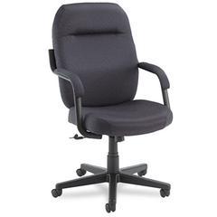 Global High-Back Swivel/Tilt Chair, Back: 21-1/4 x 19-1/2 x 23-3/4, Charcoal