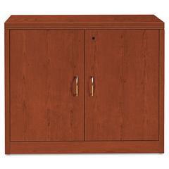 11500 Series Valido Storage Cabinet w/Doors, 36 x 20 x 29-1/2, Henna Cherry