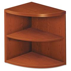 Valido 11500 Series 2-Shelf End Cap Bookcase, 24w x 24d x 29-1/2h, Henna Cherry