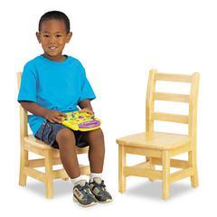 "Jonti-Craft Kydz Ladderback Chair, 10"" High Seat, 2/Carton"