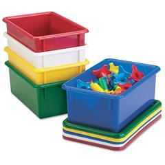 Jonti-Craft Cubbie Trays, 8-5/8w x 13-1/2d x 5-1/4h, Blue