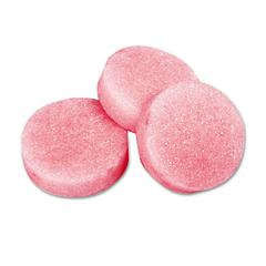 Krystal Urinal Deodorizer Blocks, 3-oz. Block, Cherry Fragrance, 12 Blocks/Box