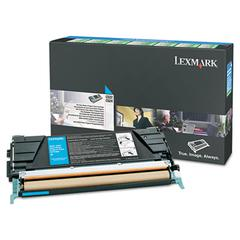 Lexmark Cyan Standard Yield Return Program Toner Cartridge - Laser - Cyan