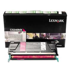 Lexmark C5346MX Extra High-Yield Toner, 7000 Page-Yield, Magenta