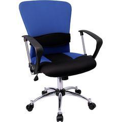 Flash Furniture Mid-Back Blue Mesh Swivel Task Chair