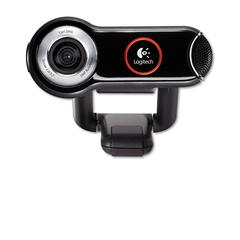 QuickCam Pro 9000 Webcam, Carl Zeiss Optics w/Autofocus, 8 Megapixel, Black