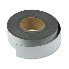 "Magnetic Write-on/Wipe-off Rolls - Rectangle - 2"" x 50 ft - Magnet - White"