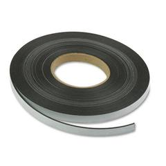 "Magnetic Tape - 0.50"" Width x 50 ft Length - Magnet - Flexible - 1 / Roll - Charcoal"