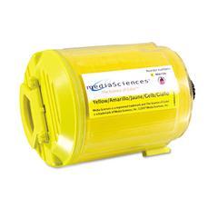 Media Sciences MDAMS6110Y Phaser 6110 Compatible, 106R01273 Laser Toner, 1,000 Yield, Yellow