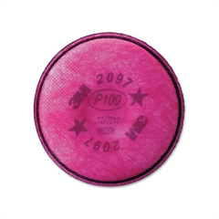 Particulate Filter 2097/07184/P100, Nuisance Level Organic Vapor Relief