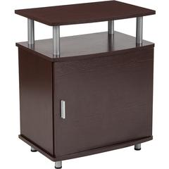 Markham Collection Espresso Wood Finish Side Table