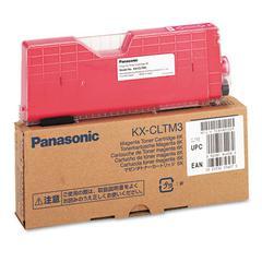 Panasonic KXCLTM3 Toner, 6000 Page-Yield, Magenta