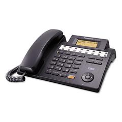 PANASONIC KX-TS4100B Integrated Phone System, Corded, Four Lines, Black