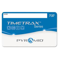Time Clock Badges for Software Based Time/Attendance Terminal, Numbered 51-100