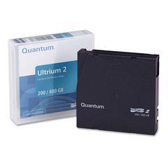 """Quantum 1/2"""" Ultrium LTO-2 Cartridge, 1998ft, 200GB Native/400GB Compressed Capacity"""