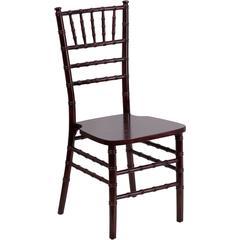 Flash Elegance Supreme Mahogany Wood Chiavari Chair