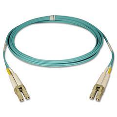 Tripp Lite N820-01M 1M 3ft 10Gb Duplex MMF 50/125 LSZH Patch Cable LC/LC Aqua, 3'