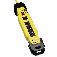 Tripp Lite TLM615SA Safety Surge Suppressor, 6 Outlet, OSHA, 15ft Cord, 2700 Joules