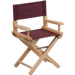 Kid Size Directors Chair in Brown