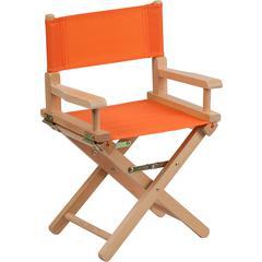 Kid Size Directors Chair in Orange