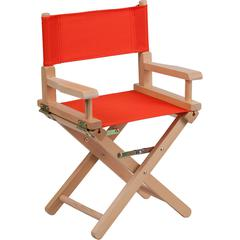 Kid Size Directors Chair in Red