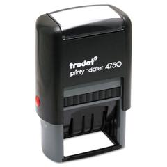 Stamp with Plastic Frame, Custom Numberer, Self-Ink, Black/Blue/Red