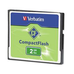 Verbatim Compact Flash Card, 2GB