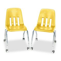 Virco Standard Teacher's Chair, 18-5/8 x 21 x 30, Squash, 2/Carton