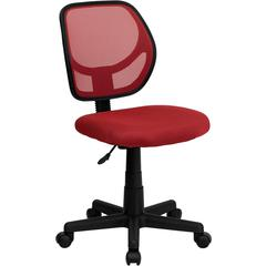 Flash Furniture Red Mesh Swivel Task Chair
