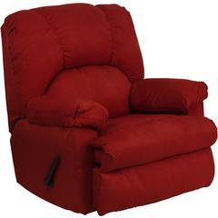 Flash Furniture Contemporary Montana Garnett Microfiber Suede Rocker Recliner