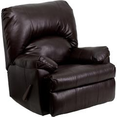 Flash Furniture Contemporary Apache Brown Leather Rocker Recliner