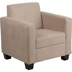 Grand Series FedExable Light Brown Microfiber Chair