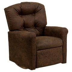 Flash Furniture Kids Bomber Jacket Microfiber Rocker Recliner