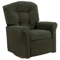 Flash Furniture Kids Olive Microfiber Rocker Recliner